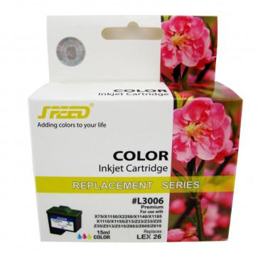 Cartus compatibil color LEXMARK 10N0026/10N0227 SPEED