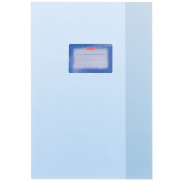 Coperta A4, PP, albastru deschis, 25 buc/set, HERLITZ