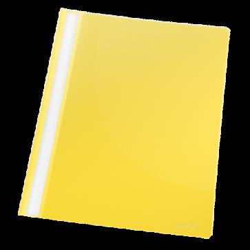 Dosar din plastic, cu sina, galben, 25 bucati/pachet, ESSELTE Standard VIVIDA