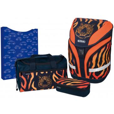 Ghiozdan ergonomic echipat, HERLITZ Motion Plus Tiger
