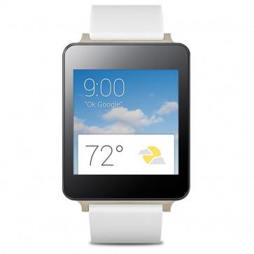 Smartwatch, White, LG G Watch W100