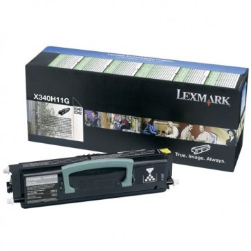 Toner, black, LEXMARK X340H11G
