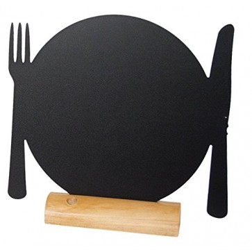 Tabla pentru creta, suport lemn, forma Plate, SECURIT