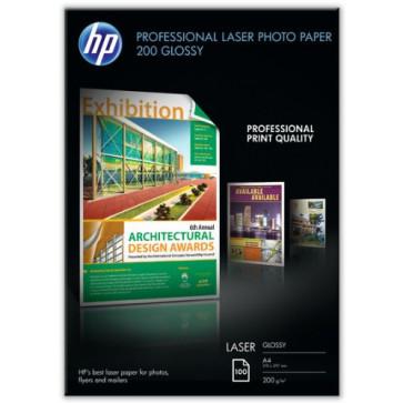 Hartie foto, A4, 200g/mp, 100 coli/top, lucios, HP Professional Laser