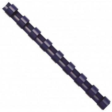 Inele din plastic pentru indosariere, 14mm, albastru, 100 bucati/cutie, FELLOWES