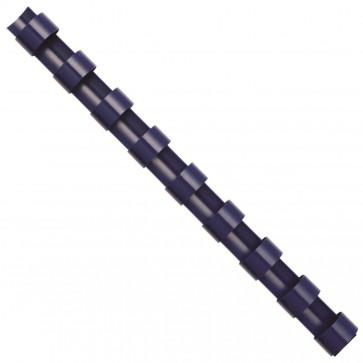 Inele din plastic pentru indosariere, 25mm, albastru, 50 bucati/cutie, FELLOWES