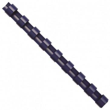 Inele din plastic pentru indosariere, 10mm, albastru, 100 bucati/cutie, FELLOWES