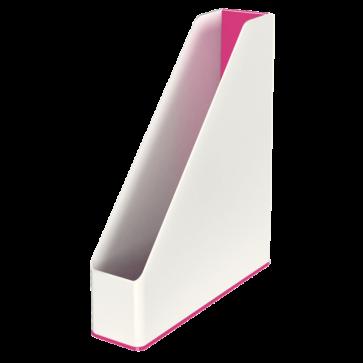 Suport vertical, culori duale, roz metalizat, LEITZ WOW