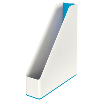 Suport vertical, culori duale, albastru metalizat, LEITZ WOW