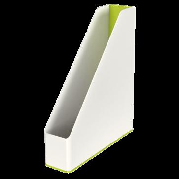 Suport vertical, culori duale, verde metalizat, LEITZ WOW