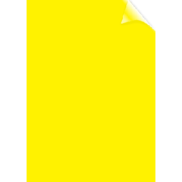 Coperti transparente, galben, A4, 200 microni, 100 buc/top, FELLOWES