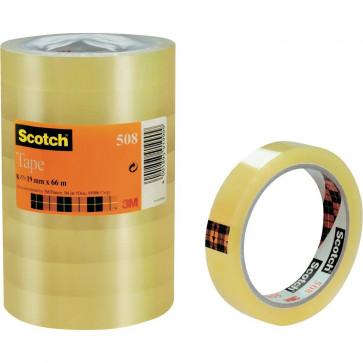 Banda adeziva, 19mm x 66m, SCOTCH 508