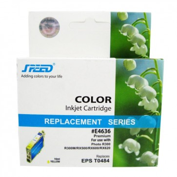 Cartus compatibil yellow EPSON T0484 SPEED