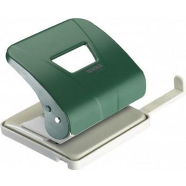 Perforator de birou, pentru maxim 30 coli, verde, LACO L301