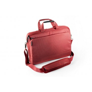 Geanta pentru laptop, 15.6'', material textil, rosu, FELLOWES Thrio Messenger