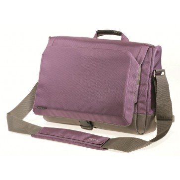 Geanta pentru laptop, 15.6'', material textil, mov cu gri, FELLOWES Thrio Messenger