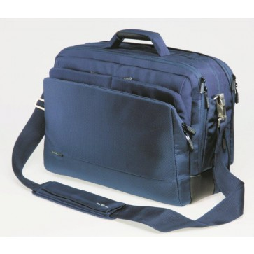 Geanta pentru laptop, 15.6'', material textil, albastru inchis, FELLOWES Thrio Comfort Expandable