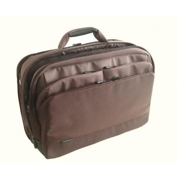 Geanta pentru laptop, 15.6'', material textil, maro, FELLOWES Thrio Comfort Expandable