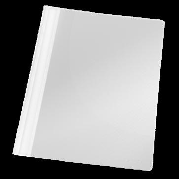 Dosar din plastic, cu sina, alb, 25 bucati/pachet, ESSELTE Standard VIVIDA