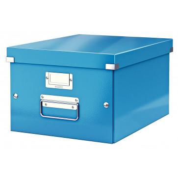 Cutie pentru arhivare, 281 x 200 x 370mm, albastru, LEITZ Click & Store