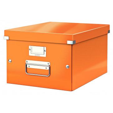 Cutie pentru arhivare, 281 x 200 x 370mm, portocaliu, LEITZ Click & Store