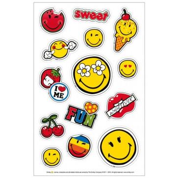 Sticker, 3 coli/set, HERLITZ Smiley World Girly