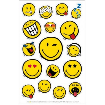 Sticker, 3 coli/set, HERLITZ Smiley World