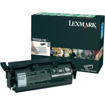 Toner, black, LEXMARK T650A11E
