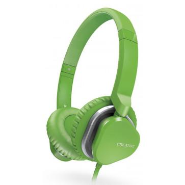 Casti CREATIVE Labs Over-Head Hitz MA2400 Green