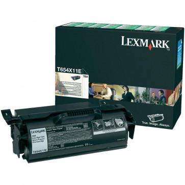 Toner, black, LEXMARK T654X11E