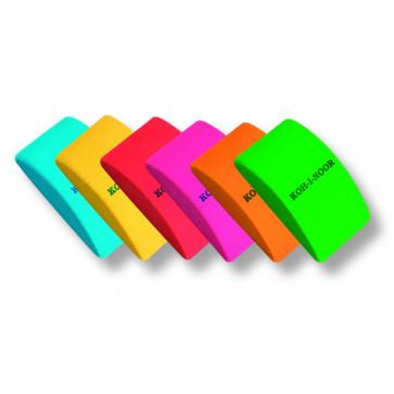 Radiera, mare, diferite culori, KOH-I-NOOR Mouse