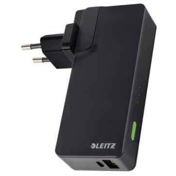 Incarcator si baterie, port USB, 3000mAh, LEITZ Complete