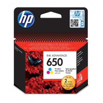 Cartus, color, nr. 650, HP Ink Advantage CZ102AE