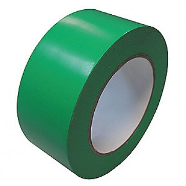 Banda adeziva de marcare, solvent, PVC, 50mm x 33m, verde, VIBAC