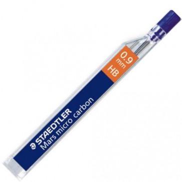 Mine pentru creion 0.9mm, B, 12 buc/etui, STAEDTLER Mars micro carbon