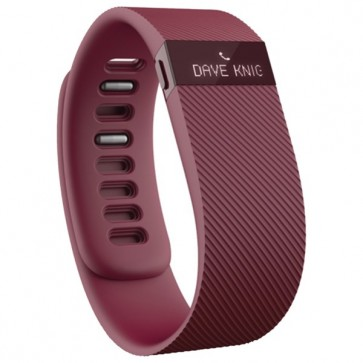 Bratara Wireless, Burgundy, FITBIT Charge Large