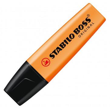 Textmarker, 2-5mm, portocaliu, STABILO Boss Original