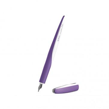 Stilou caligrafie, penita 1.4, HERLITZ my.pen Style Luxurious Purple