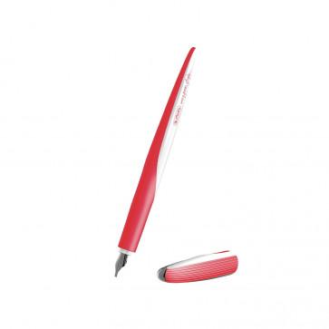 Stilou caligrafie, penita 1.4, HERLITZ my.pen Style Glowing Red