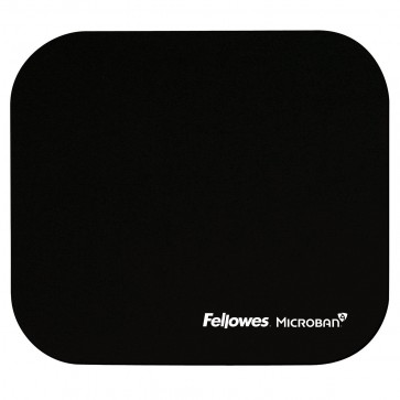 Mouse pad, negru, FELLOWES Microban