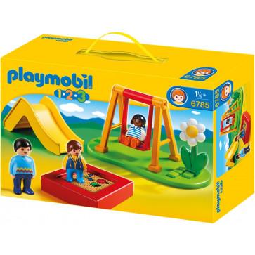 Loc de joaca pentru copii, PLAYMOBIL 1.2.3