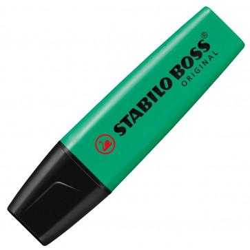 Textmarker, 2-5mm, turcoaz, STABILO Boss Original