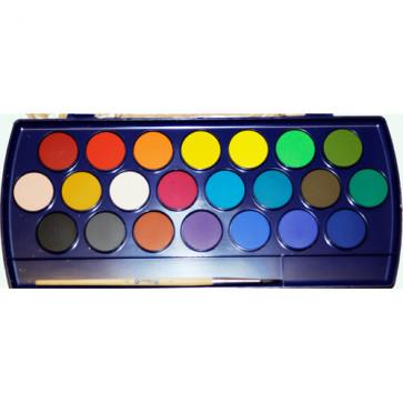 Acuarele 22 culori/set (pensula inclusa), PELIKAN
