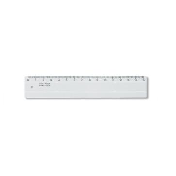 Rigla din plastic, 15cm, KOH-I-NOOR