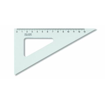 Echer din plastic, 60º / 160 mm, KOH-I-NOOR
