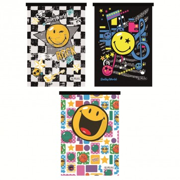 Bloc notes A6 matematica, 46 file, HERLITZ Smiley World