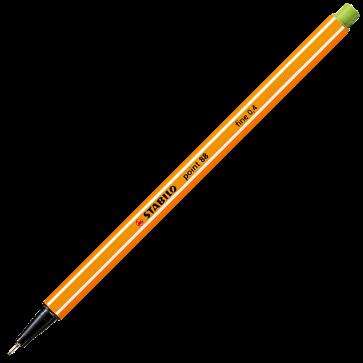 Fineliner, 0.4mm, verde deschis gheata, STABILO Point 88-13