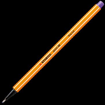 Fineliner, 0.4mm, violet, STABILO Point 88-55