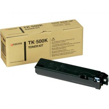Toner, black, 8000 pagini, KYOCERA TK-500K