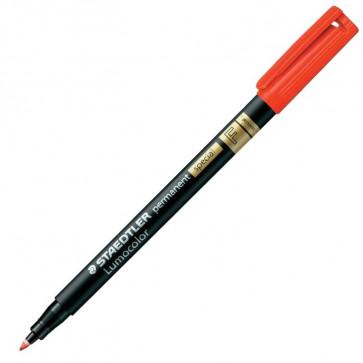 Marker permanent, special, varf F 0.6mm, rosu, STAEDTLER